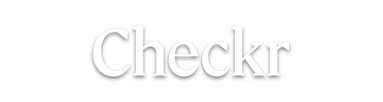 Checkr-White-Logo