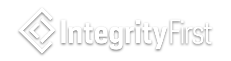 IntegrityFirst White Logo-1
