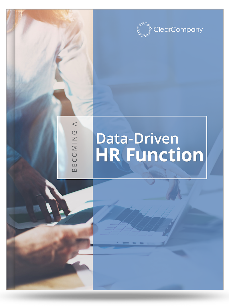 data driven HR function